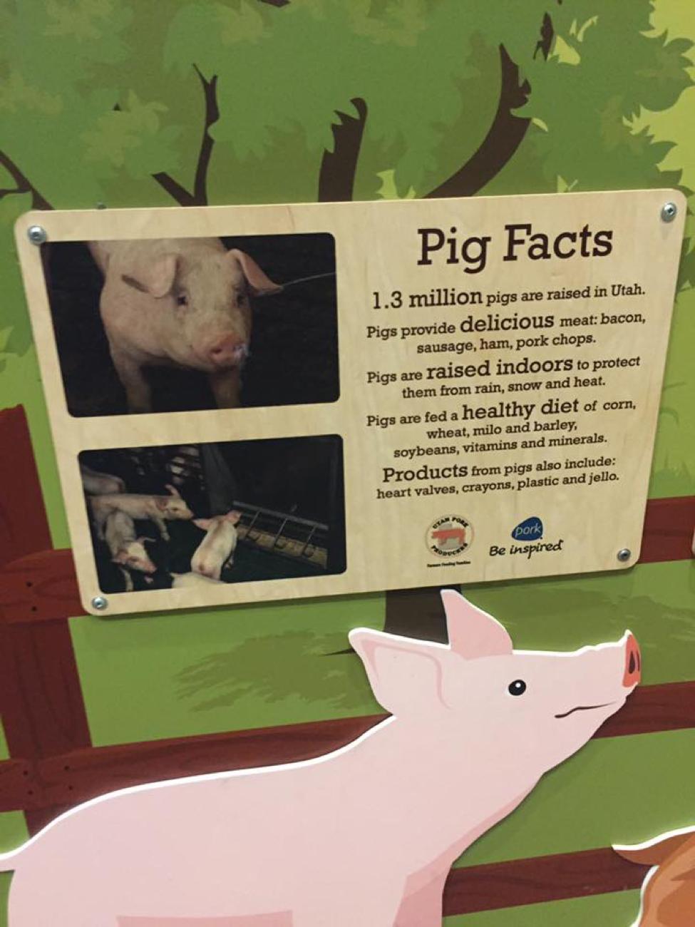 Discovery Gateway Children's Museum Removes Pork Industry Propaganda
