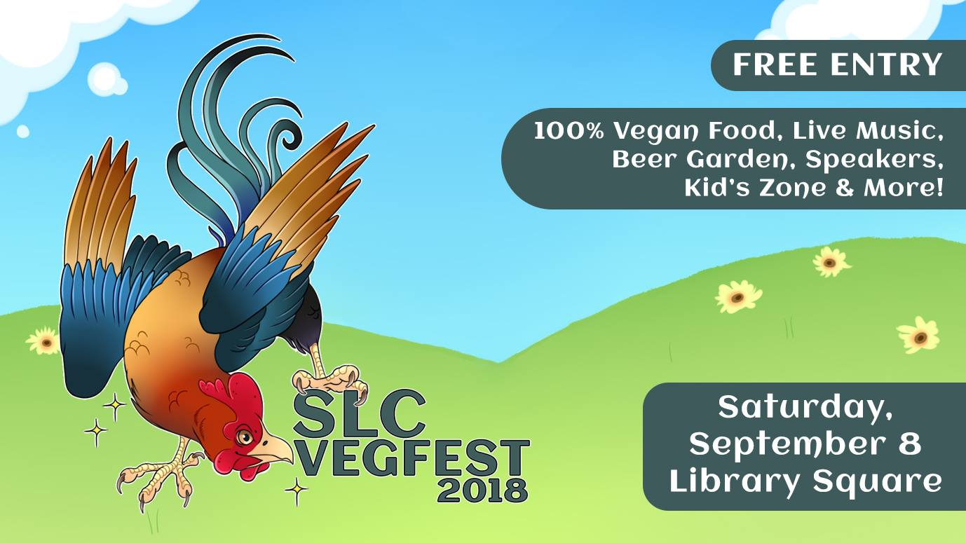 Music, Vegan Food, Speakers, 5,000 Attendees Expected at 'SLC VegFest'